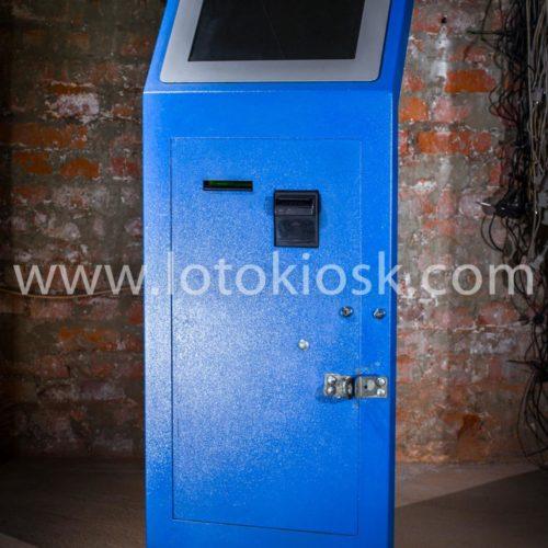 Платежный терминал напольный от компании Лотокиоск